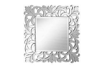 Contemporary Modern Wall Mirror Square