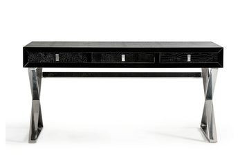 Congress Transitional Desk Black