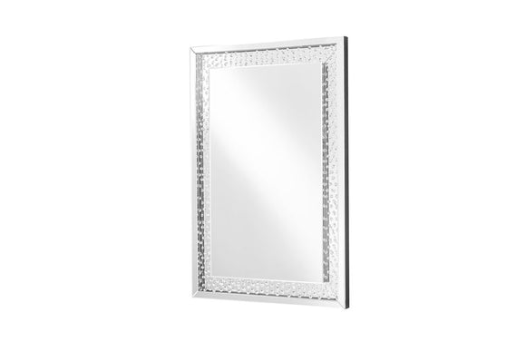 Modern Contemporary Mirror in Clear Rectangular