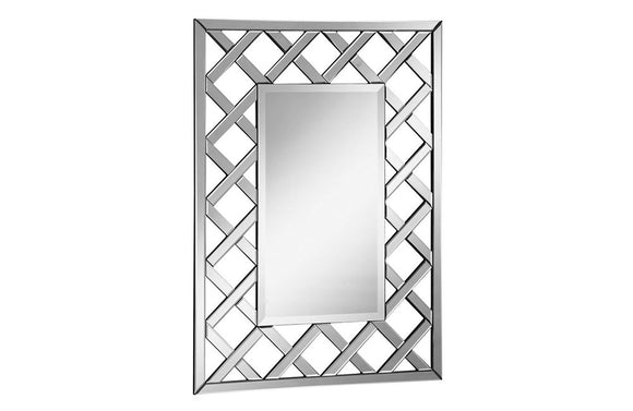 Contemporary Modern Wall Mirror Rectangle