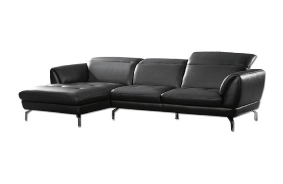 Sofronia Sectional Sofa Black