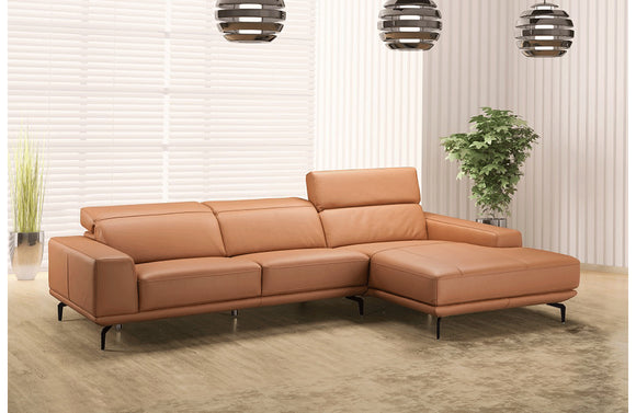 Janelle Premium leather Sectional Sofa