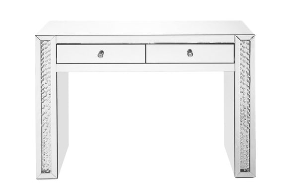 Modern Crystal Vanity Table Rectangle