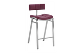 Peyton Quilted Staionary Bar Stool
