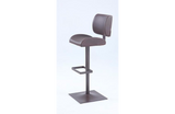 Angel Slightly Curved-in Oversized Seat Adjustable Stool Brown