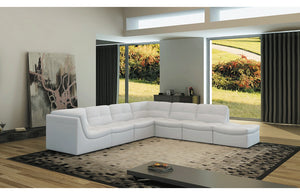 Adriel 7pc Sofa Set White