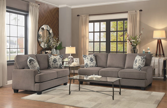 Billy Brown sofa set