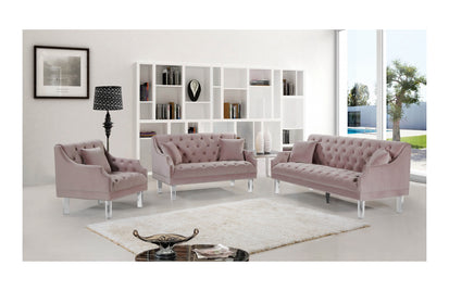 Wondrous Jean Pink Sofa Set Onthecornerstone Fun Painted Chair Ideas Images Onthecornerstoneorg