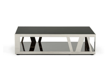 Modrest Sherman Modern Ebony Coffee Table