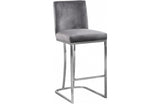 Abena Grey Bar Stool