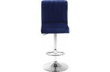 Abejundio Navy Bar Stool