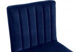 Abequa Navy Bar Stool