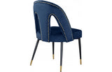 Aada Navy Dining Chair
