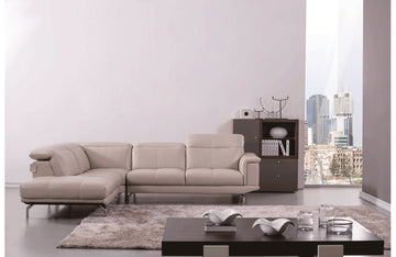 Elenitsa Sectional Sofa Beige