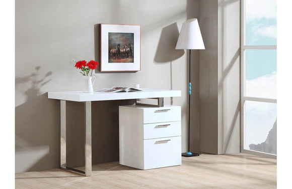 Chris Modern Office Desk White