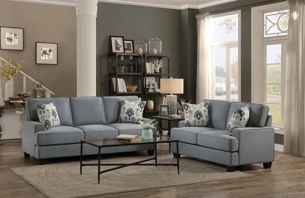 Billy Gray sofa set