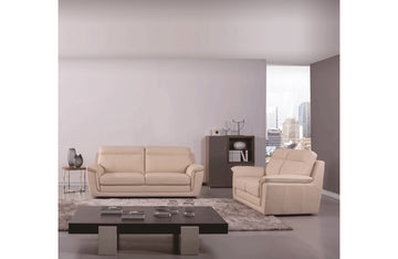 Giannes 2 PC Living Room Set Beige
