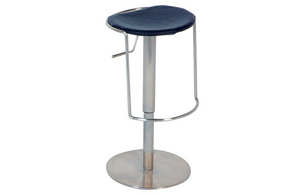 Brooklyn Adjustable Swivel Stool Black