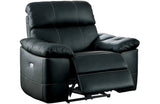 Jason Black  Reclining Sofa Set