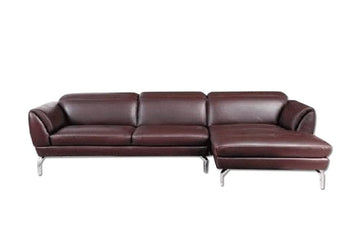 Sofronia Sectional Sofa Brown