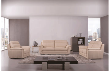 Giannes 3 PC Living Room Set Beige