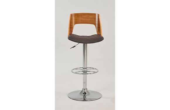 Evan Adjustable Stool Brown