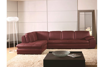 Rouvin Sectional Sofa Red