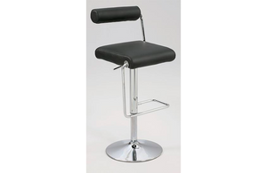 Jacob Swivel Stool Black
