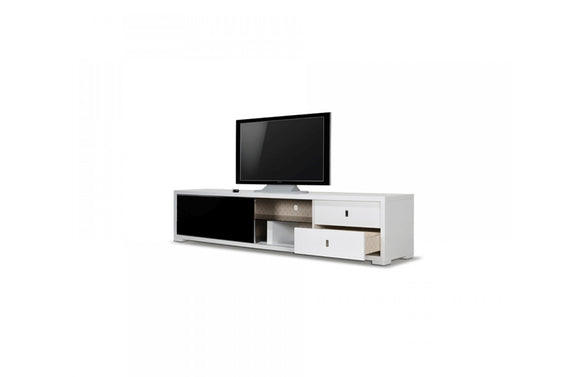 Leopold Modern TV Stand White
