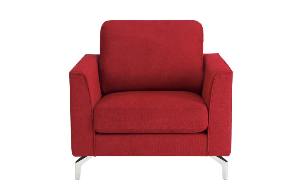 hannah red sofa set buy 640 in a modern furniture store rh casaeleganza com red sofa chair for sale red sofa chair for sale