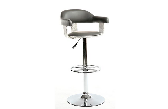 Carter Adjustable Stool Gray