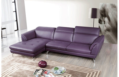 Amazing Sofronia Sectional Sofa Purple Left Facing Chaise Buy Ncnpc Chair Design For Home Ncnpcorg
