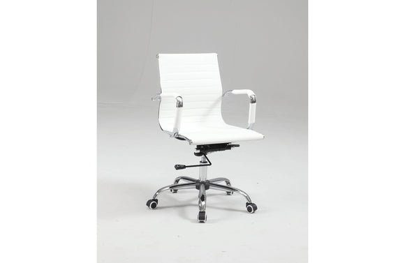 Casa Eleganza Office Chair 4918 White