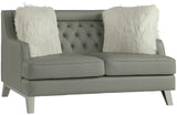 Arista Gray Love Seat