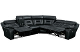 Arlington Black  Reclining Sectional Sofa