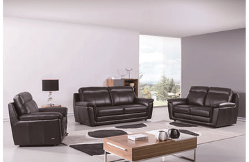 Giannes 3 PC Living Room Set Brown