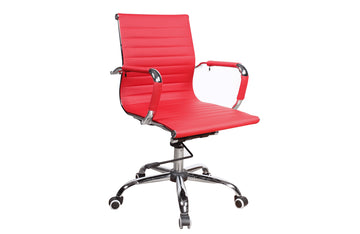 Casa Eleganza Office Chair 4918 Red