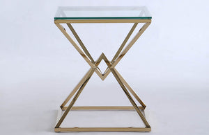 Marley Square Lamp Table