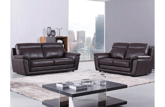 Giannes 2 PC Living Room Set Brown