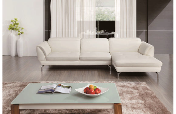 Sofronia Sectional Sofa White