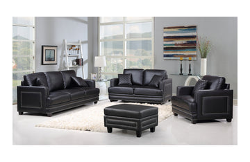 Cliff Black sofa set