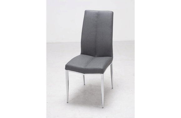 Levi Side Chair Textured Ash Gray