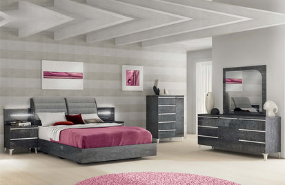 Griffin Modern Bedroom Set (Queen)-Buy ($2551) in a modern ...
