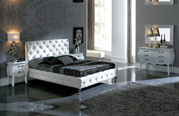 Nelly 621 White Bedroom Set