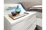 Amanda White Modern Bedroom Set
