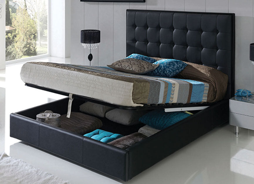 Penelope 622 Black Bedroom Set Queen Buy 1539 In A Modern Furniture Store Fairfield Nj Casa Eleganza Furniture Mattress