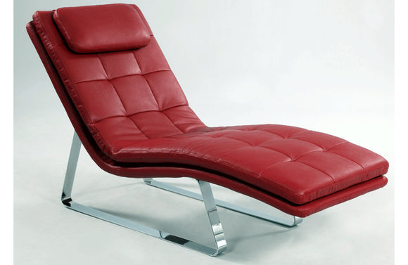 Eugenia Chaise Red