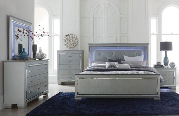 Cityscape Bedroom Set