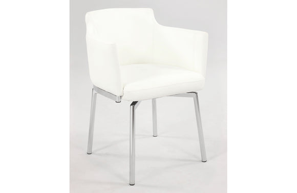 Niccolo Armchair White