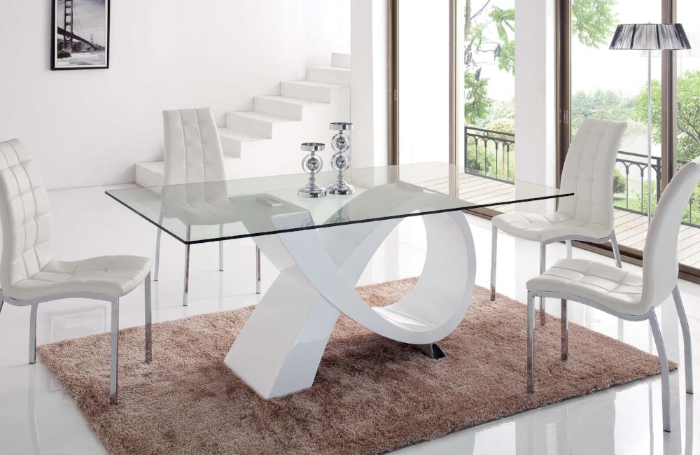Leo Modern Dining Set 2 Chairs Buy 1033 In A Modern